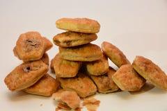 De Italiaanse koekjes van de chocoladeroom Royalty-vrije Stock Foto