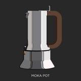 De Italiaanse Koffie maakt Stock Foto