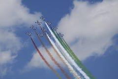 De Italiaanse lucht toont Stock Foto's