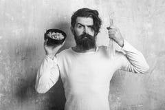 De Italiaanse macaroni van de Hipstergreep royalty-vrije stock afbeelding