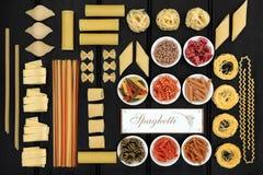 De Italiaanse Monstertrekker van Spaghettideegwaren Royalty-vrije Stock Foto