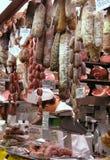 De Italiaanse Specialiteiten van het Voedsel Stock Foto's