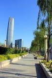 De Italiaanse Stad van Tianjin in China Stock Foto's