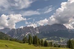 De Italiaanse Vallei van Alpen, Italië Royalty-vrije Stock Foto's