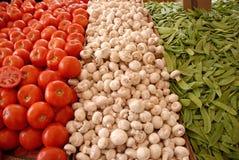 De Italiaanse Vlag van het Voedsel Stock Afbeelding