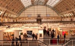 De jaarlijkse Markt van de Kunst van Londen. Stock Foto's