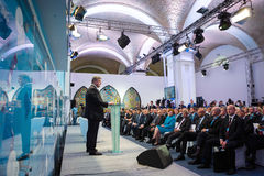 12de Jaarlijkse Vergadering van de Europese Strategie van Yalta (JA) Royalty-vrije Stock Afbeeldingen