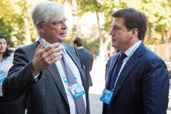 12de Jaarlijkse Vergadering van de Europese Strategie van Yalta (JA) Stock Foto's
