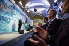 13de Jaarlijkse Vergadering van de Europese Strategie van Yalta (JA) Royalty-vrije Stock Fotografie