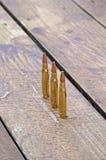 De jacht munitie Stock Foto