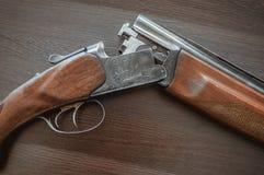 De jachtgeweer Royalty-vrije Stock Afbeeldingen
