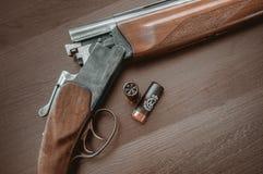 De jachtgeweer Royalty-vrije Stock Fotografie