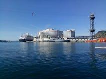 De jachthaven van Barcelona Stock Foto's