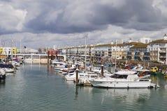 De Jachthaven van Brighton. Sussex. Engeland royalty-vrije stock fotografie
