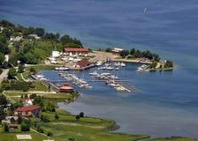 De Jachthaven van de Baai van de Gore royalty-vrije stock afbeelding