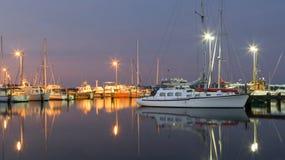 De Jachthaven van de oesterhaven Stock Fotografie