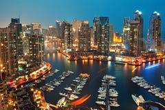 De Jachthaven van Doubai Stock Foto's