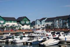 De jachthaven van Exmouth stock afbeelding