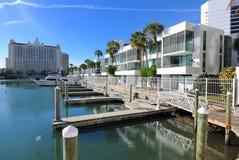 De Jachthaven van Florida stock afbeelding