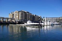 De Jachthaven van Glenelg stock fotografie