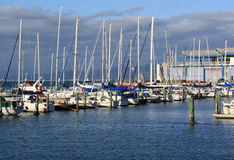 De Jachthaven van het jacht Royalty-vrije Stock Afbeeldingen