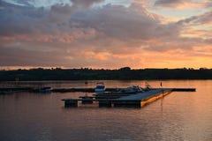 De jachthaven van het jacht Royalty-vrije Stock Foto