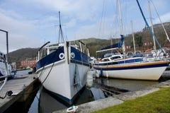 De Jachthaven van het kegelenbassin Royalty-vrije Stock Afbeeldingen