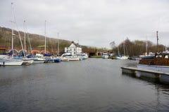 De Jachthaven van het kegelenbassin Royalty-vrije Stock Foto's