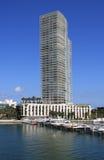 De Jachthaven van het Strand van Miami van het pictogram Stock Fotografie