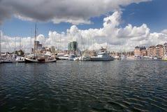 De jachthaven van Ipswich Stock Fotografie