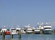 De Jachthaven van Key West Royalty-vrije Stock Afbeeldingen