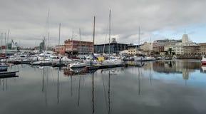 De Jachthaven van La Coruna Stock Afbeelding