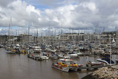 De Jachthaven van Lagos, Lagos, Algarve, Portugal Royalty-vrije Stock Foto's