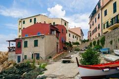 De jachthaven van Marciana Royalty-vrije Stock Foto's