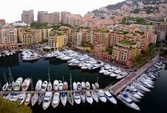 De jachthaven van Monaco Royalty-vrije Stock Afbeelding