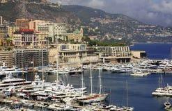 De jachthaven van Monaco Stock Fotografie