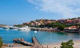 De jachthaven van Porto Cervo royalty-vrije stock fotografie