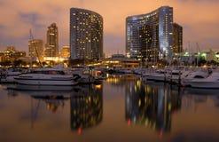 De Jachthaven van San Diego Royalty-vrije Stock Afbeeldingen