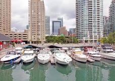 De Jachthaven van Toronto royalty-vrije stock afbeeldingen