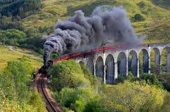 De Jacobite-trein Royalty-vrije Stock Foto