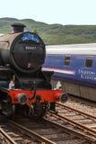 De Jacobite-trein Royalty-vrije Stock Foto's