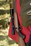 De jager van elanden royalty-vrije stock foto