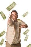 De Jager van het geld Stock Foto's
