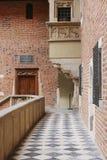 De Jagiellonian-Universiteit Krakau, Polen Collegium Maius Royalty-vrije Stock Foto's
