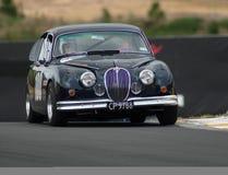De Jaguar MkII van Motorsport 1962 royalty-vrije stock foto's