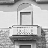 de jaloezie van Italië in de oude architectuur van Europa en gr. Royalty-vrije Stock Afbeelding