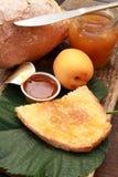 De jam van Apricoat Royalty-vrije Stock Afbeeldingen
