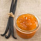 De Jam van de abrikoos royalty-vrije stock foto's