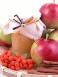 De jam van de appel Stock Foto's