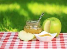 De jam van de appel Royalty-vrije Stock Afbeeldingen